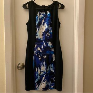 Attention Brand Fitted Sleeveless Dress Size Small